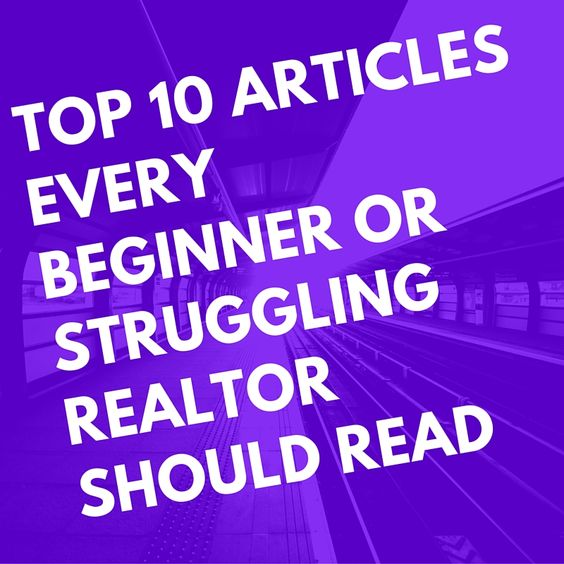 how to become a great realtor