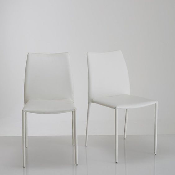 Cadeira design, (lote de 2) Newark La Redoute Interieurs