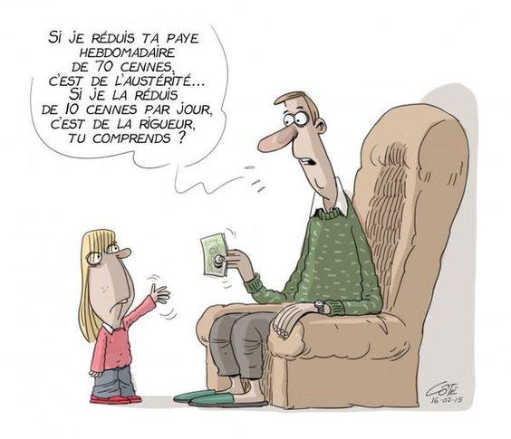 Logique libérale... #PLQ #Austérité #PolQc