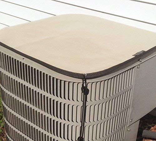 Heavy Duty Waterproof Trane Air Conditioner Cover Premier Top Cover 37x34 Almond Review Air Conditioner Cover Outdoor Air Conditioner Air Conditioner Covers