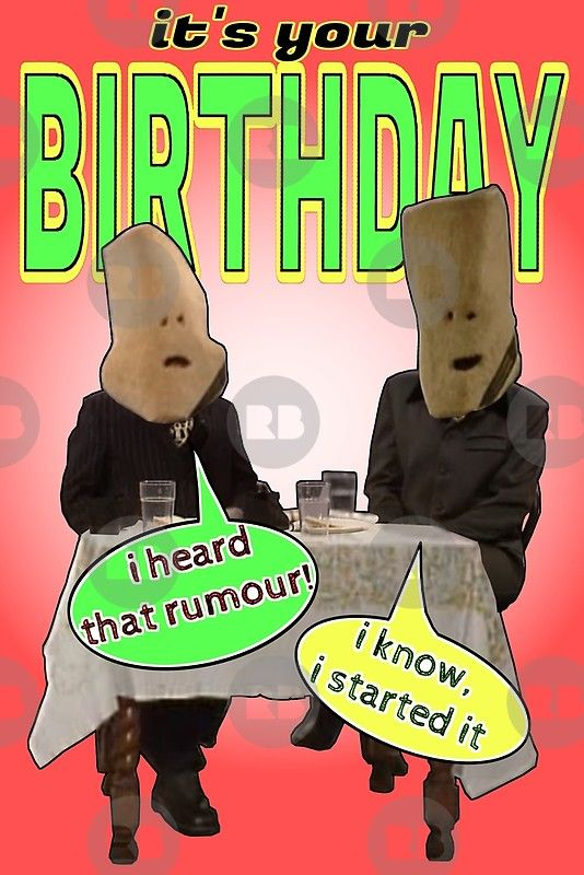 Living Carpets Birthday Rumour Vic Reeves Greeting Card By Loganferret Vic Reeves Birthday Cards