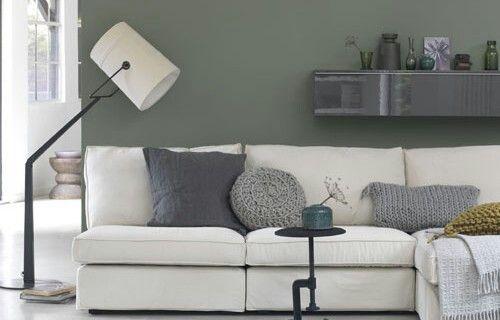Mooie Slaapkamer Muur : Ikea-Bank-Kivik