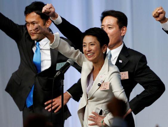 Una mujer liderará por primera vez la oposición en Japón