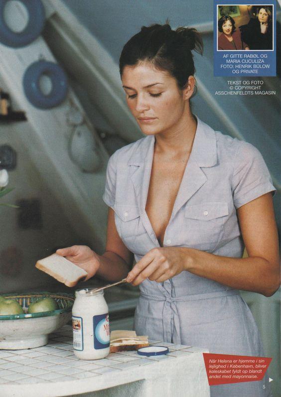 Helena Christensen | For Asschenfeldt Magazine Denmark | March 1998 #helenachristensen #asschenfeldt #1998