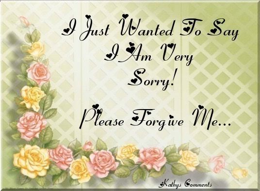 I AM Sorry Quotes I AM Sorry Please Forgive Me Iu0027m SORRY - apology card messages