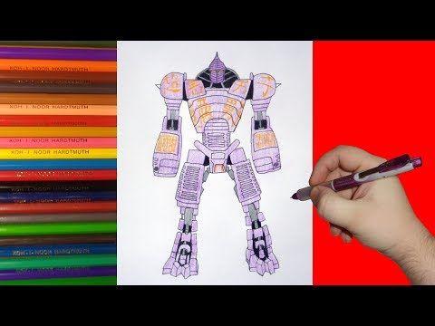 1 How To Draw Robot Noisy Boy Real Steel Kak Narisovat Robota Nojzi Boj Zhivaya Stal Youtube Real Steel Drawings Robot