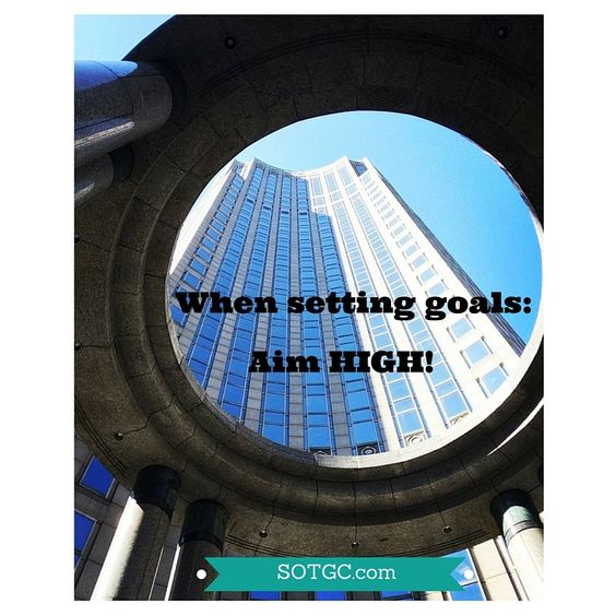 What are your goals this week? Did you know setting short terms goals are just as important as setting big picture life goals?  Just remember to celebrate the wins as you go and keep working towards that BIG ONE! #success #goals #WomenInBusiness #Glass Ceiling #business #Career #WorkingWomen #Inspiration