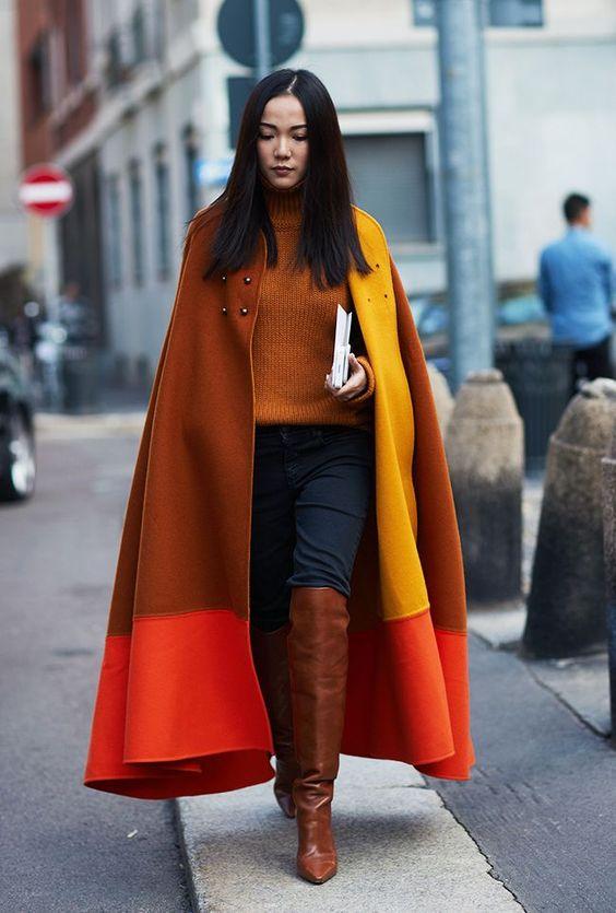Stivali overknee in similpelle marrone