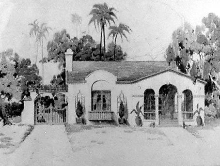 Floor plans for historic homes  California Spanish Mission    Floor plans for historic homes  California Spanish Mission home