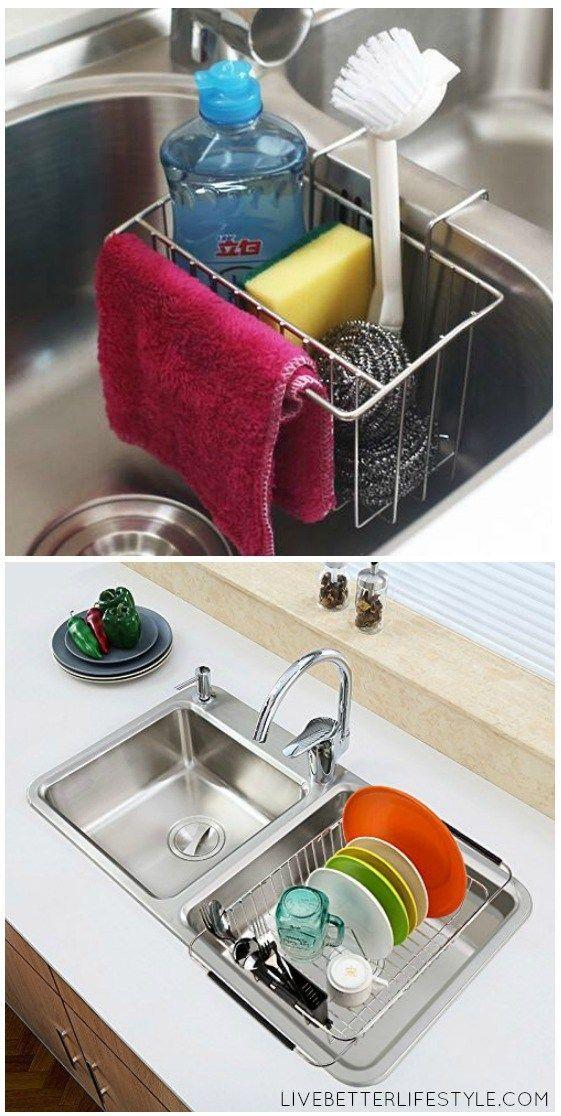 12 Amazing Kitchen Sink Organization Ideas With Images Kitchen