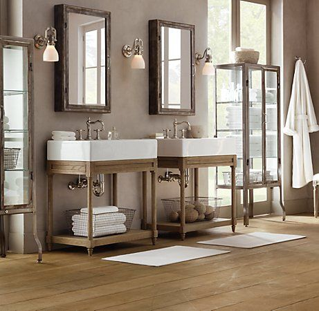 Industrial Vanities And Cabinets On Pinterest