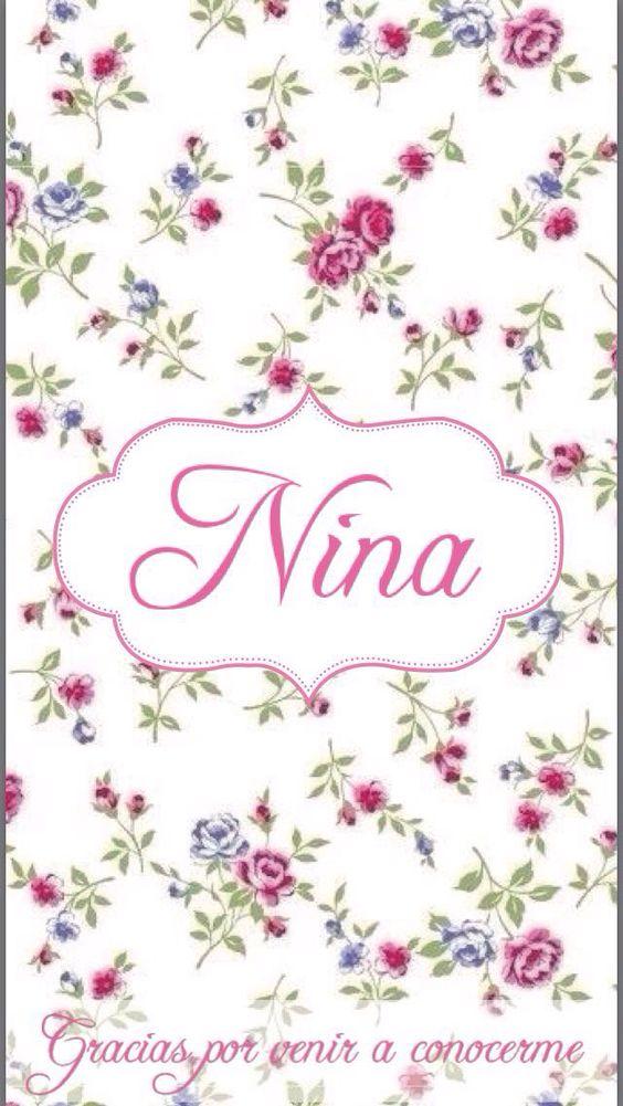 Etiqueta chocolate Nina