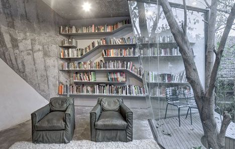 Tea House reading room by Archi-Union