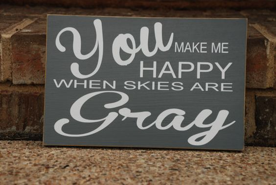 Adorable for any room in your house! Also perfect for a baby shower gift! Sign measure approx. 7 1/4x11 and states:  You make me happy when
