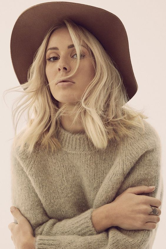 """Ellie Goulding has had a steady rise over the past few years, from her breakout single """"Lights"""" to her shimmering Fifty Shades of Grey smash, """"Love Me Like You Do."""" So when the 28-year-old began work on her third LP, she had plans to make an even bigger-sounding album, writing songs with hitmaker Max Martin (*NSYNC, Britney Spears) and his protégée, Swedish singer-songwriter Laleh. """"I've never worked with him before, but we really connected,"""" Goulding says of Martin."""