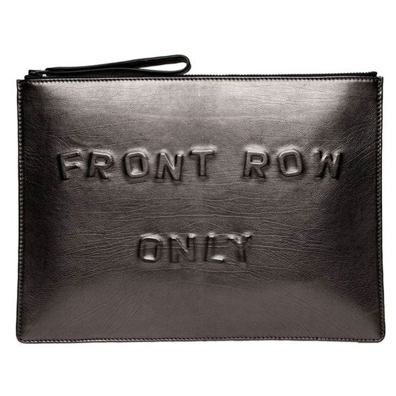 Boyy Front Row Only Clutch (3,700 CNY) ❤ liked on Polyvore featuring bags, handbags, clutches, accessories, purses, kirna zabete, metallic leather purse, metallic clutches, genuine leather purse and leather clutches