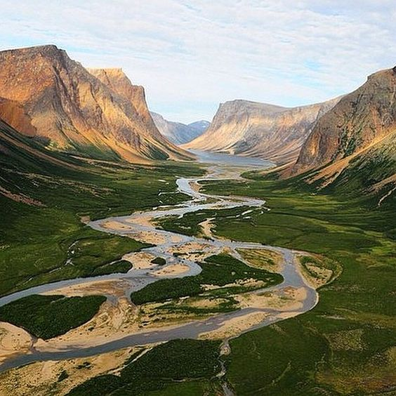 Torngat Mountains National Park Labrador CANADA #canadaexplored by canadaexplored