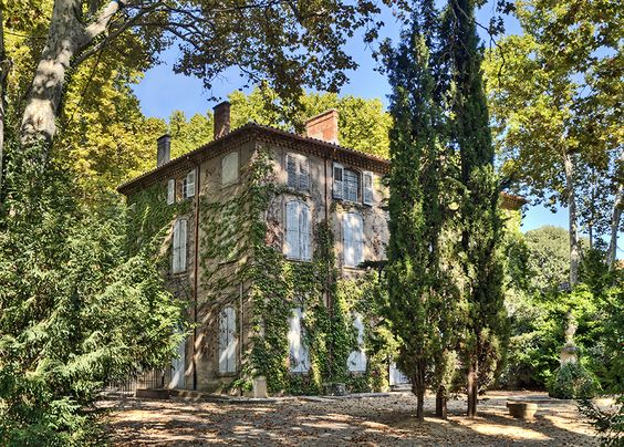 Cézanne's family home in the area known as the Jas de Bouffan, Aix-en-Provence