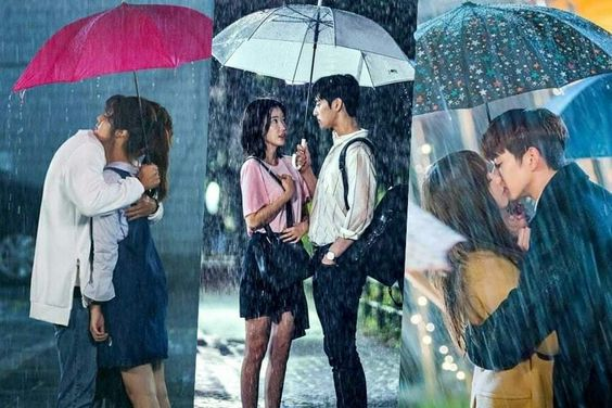 Rainy Day Romance: 8 Cute K-Drama Moments That Happen Under An Umbrella