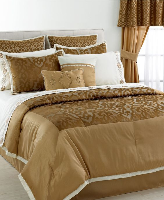 Walnut Hill 24 Piece Comforter Sets - Bed in a Bag - Bed & Bath - Macy's