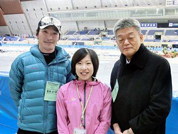 ソチオリンピックスピードスケート5000メートル出場!