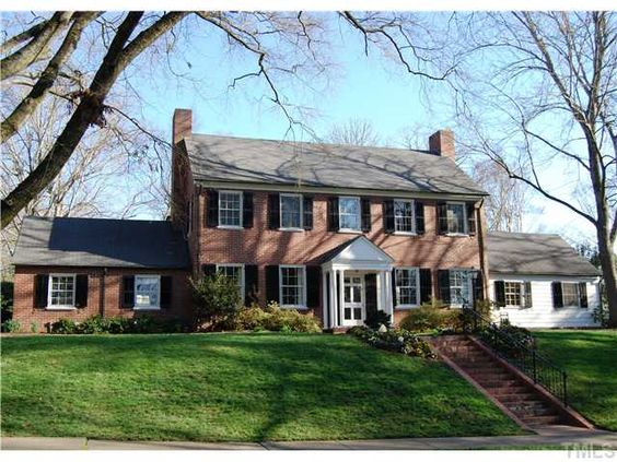 Brick colonial revival william s griswold house 2 story for Colonial brick