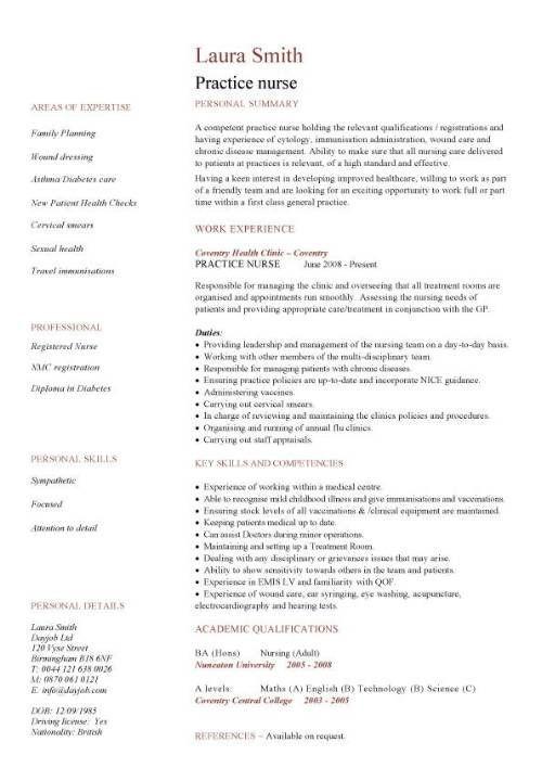 Nursing Cv Template Nurse Resume Examples Sample Registered Resumes Healthcare Work Jobs Resumeex Student Resume Template Student Resume Nursing Resume