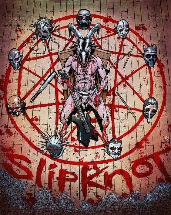 Slipknot by XxEchelonReveusexX on DeviantArt