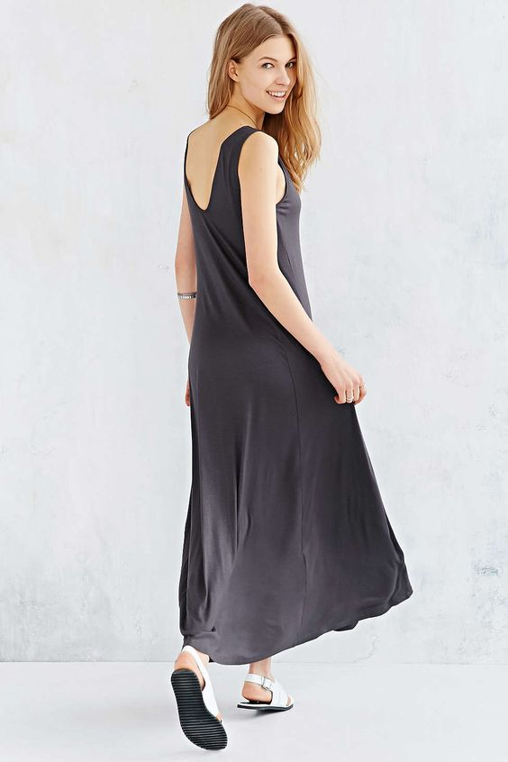 Silence + Noise Extreme Knit Maxi Dress - Urban Outfitters