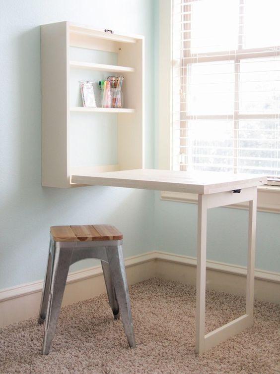 Como hacer una mesa plegable que no ocupa espacio - Taringa!
