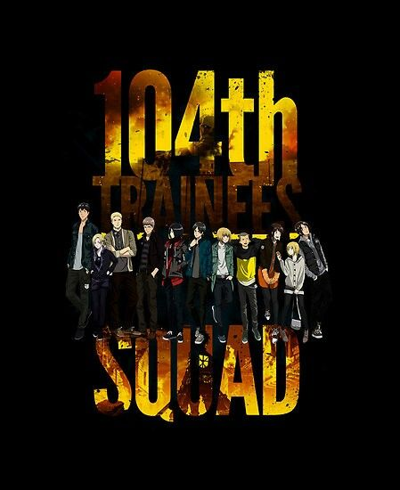 Trainess squad 104th