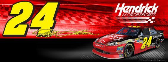 Jeff Gordon's No. 24 Drive to End Hunger Chevrolet.