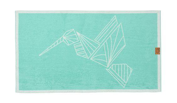 MONOQI | Hummingbird Badehandtuch