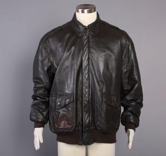 Ll bean leather jacket