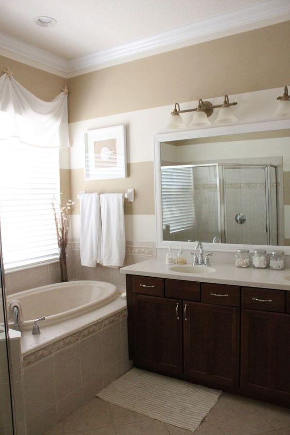 Master Bathroom Reveal: Coastal Master Bathroom Reveal Www.starfishcottageblog.com