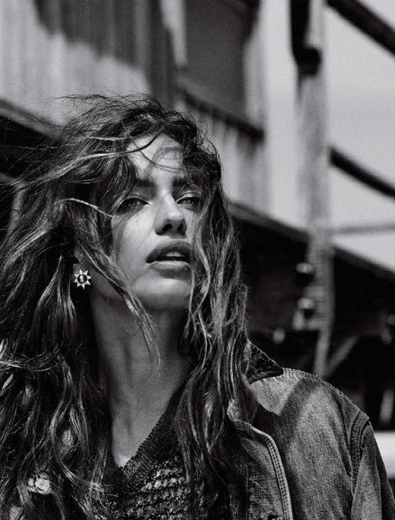 Irina Shayk Has a Western Look for Vogue Brazil ⋆ Myjestik