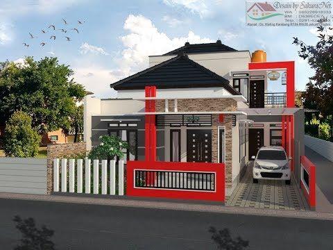 Desain Rumah Minimalis Ukuran 7x14  drafter ndeso youtube rumah minimalis