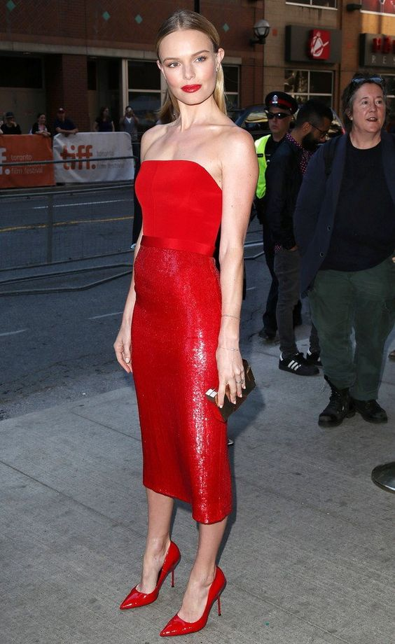 BEST LOOK: Kate Bosworth w Hugo Boss