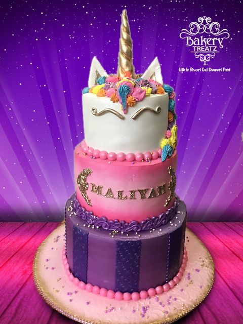 3 Layer Unicorn Cake With Images Cake Unicorn Cake Savoury Cake