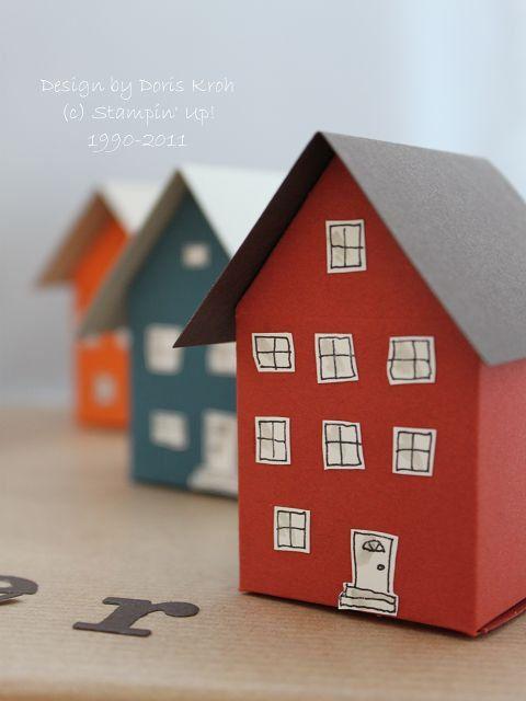 Haus aus Papier