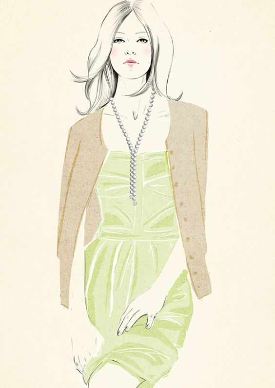 Spanish fashion illustrator Sandra Suy | DENKI-MIRAI, Japanese art licensing agency: