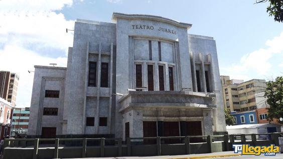 TEATRO JUARES - Conoce Venezuela con #TuMejorGuíaTurística