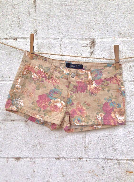 Sale! Grandmother's Garden Shorts $26.60