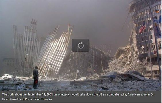 PressTV- #911 truth would take down US empire' http://bit.ly/200UUTb  You need to watch / listen to this one!  via Twitter @AlistairReign & AlistairReignBlog.com. I report on current events from around the world related to #HumanRights #ChildRightsWatch #Refugees #Politics #HumanitarianAid. The world can no longer turn a blind eye to the genocide of babies, children, innocent women and men trapped inside a war-torn country.