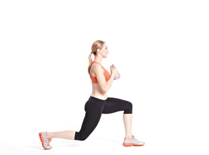 Calorie-Blasting Kettlebell Kickboxing Workout: Workouts: Self.com