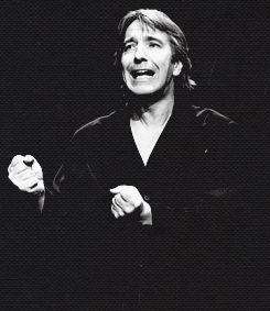 1992 - Alan Rickman as Hamlet: