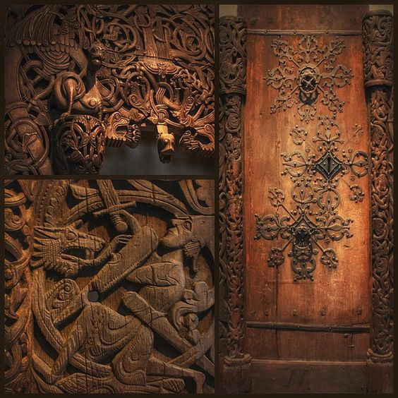 How glorious isn't this!  Imagine all the work carving it out *gasp*  How I wish I could just fill my wee kingdom with old, wooden carvings!  #INeedToGoBackToThisMuseum