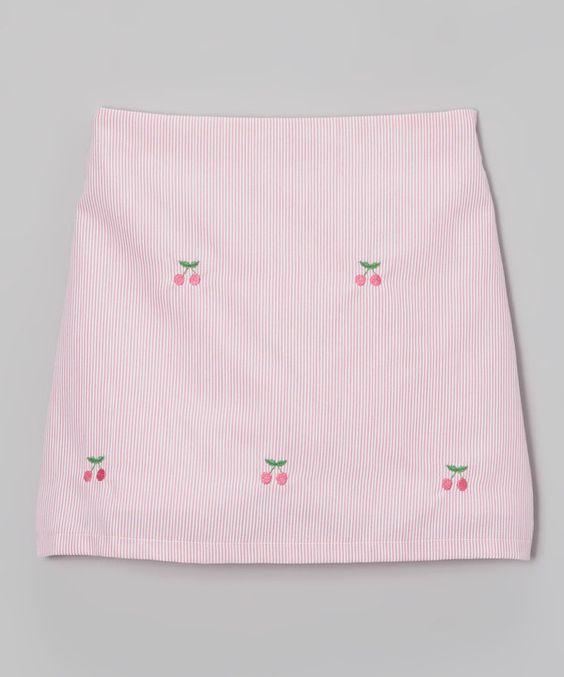 K&L Pink Cherry Skort