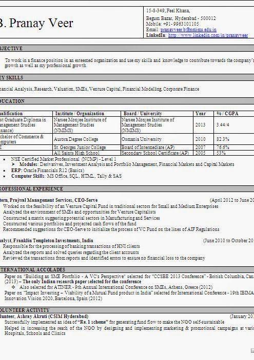 professional resume database administrator