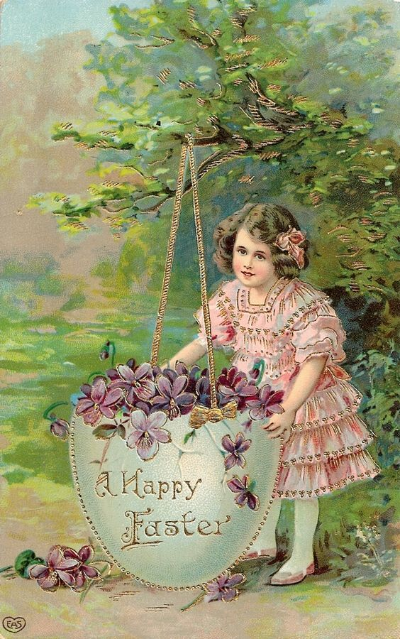 Vintage Easter Card: